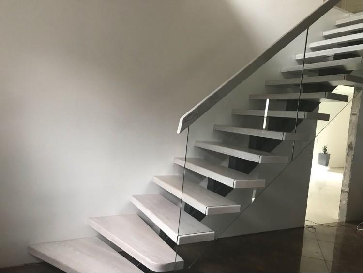 Лестница на монокосоуре Женева