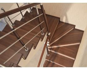 Отделка бетонной лестницы обл. 01